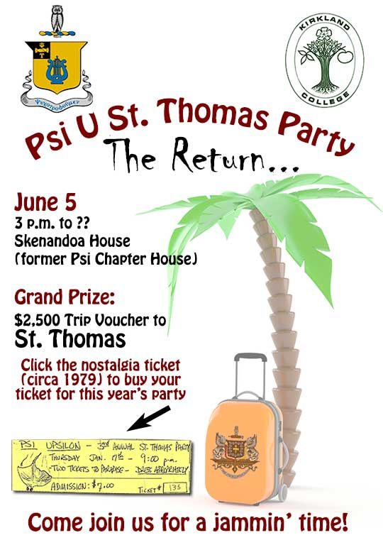 Psi U St. Thomas Party