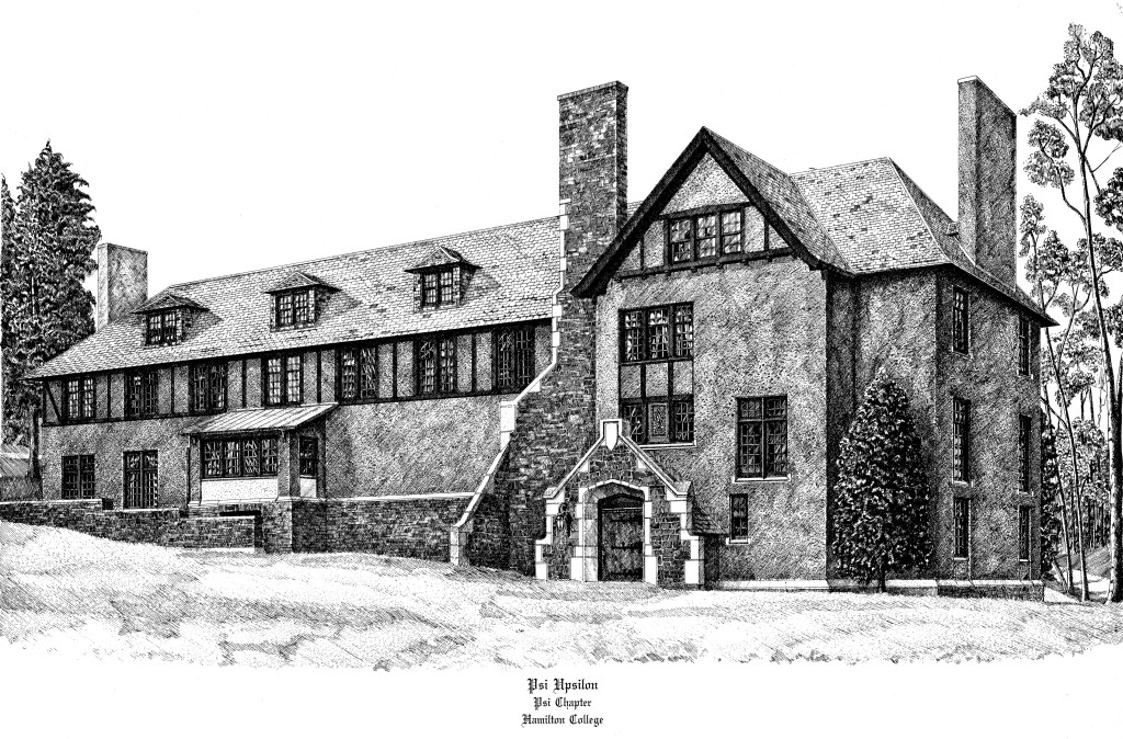 The Psi House - Hamilton College