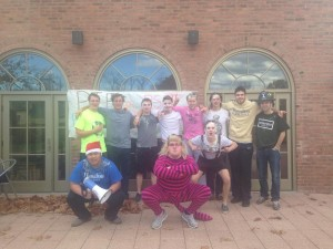 "On October 29 and November 1 of this year, the Psi chapter hosted their first major philanthropy event of the school year titled ""Pie a Psi"". Organized by chapter Philanthropy Chair, Chris Jusuf ('15), Pie a Psi aimed to raise money for the chapter's community partner, the Clinton Fire Department."