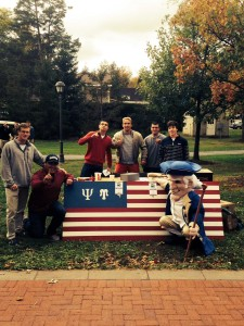 From October 8 through 10, the Psi Chapter held their first philanthropy event of the year to benefit Clear Path for Veterans, an organization based in the Syracuse area that provides programs to aid America's war veterans with physical and mental injuries.